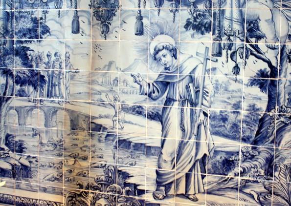 mural da igreja